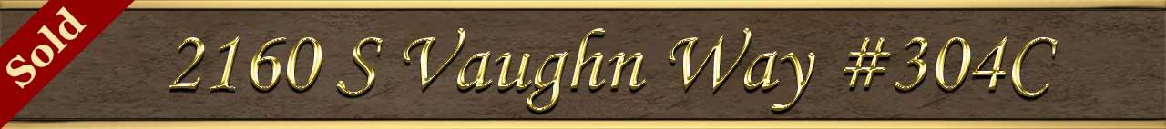 Sold Status for 2160 S Vaughn Way 304C Aurora CO 80014