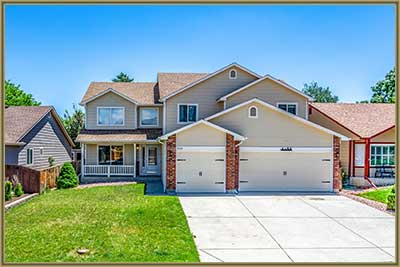 Home for Sale at 5544 S Ward Way in Littleton CO